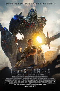 Transformers Age of Extinction - poster