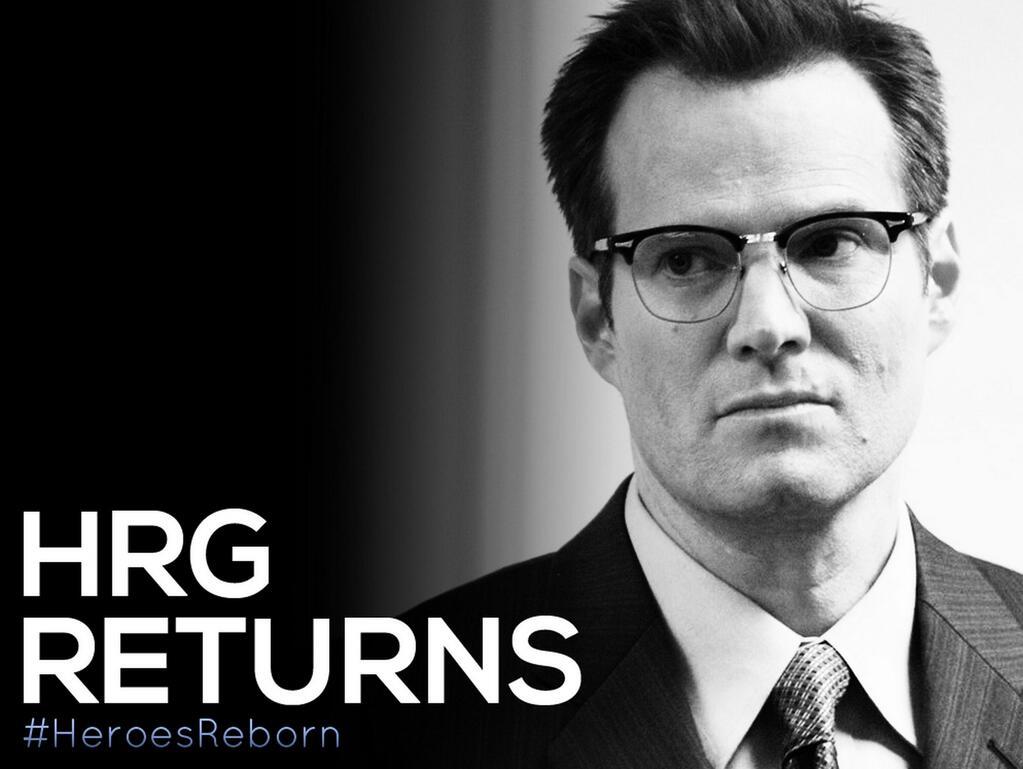 Heroes Reborn - HRG returns