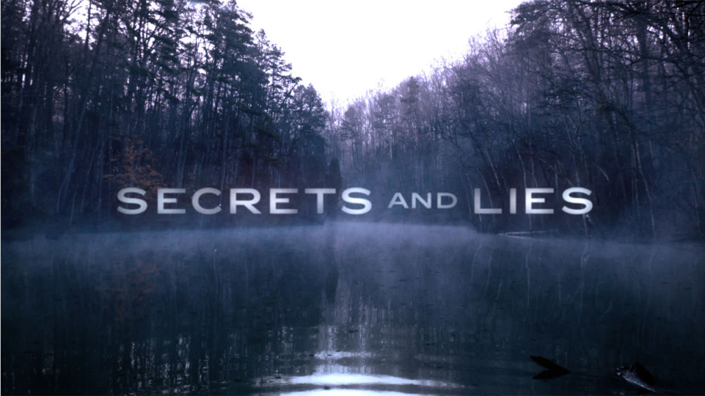 Secrets and Lies - logo