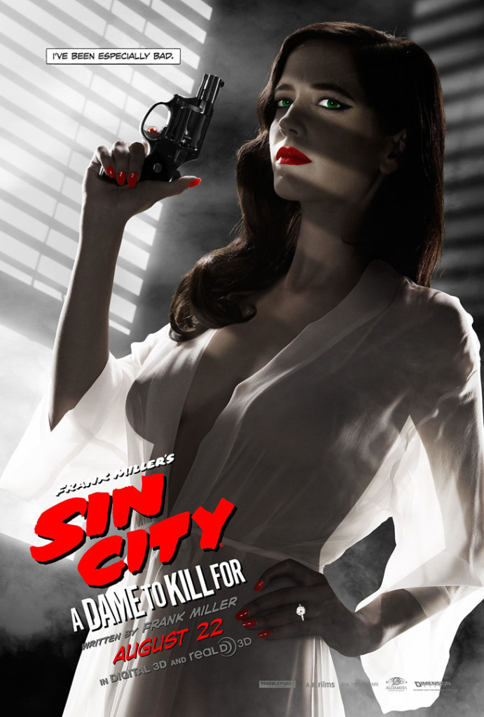 Sin City A Dame To Kill For - rejected Eva Green poster
