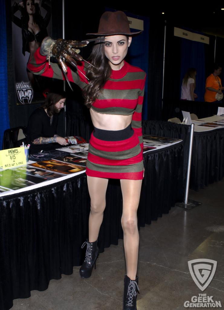 LeeAnna Vamp at Terror Con 2014