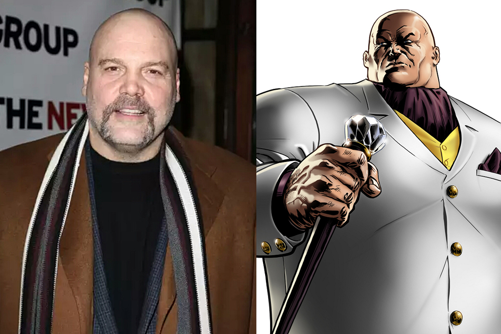 Vincent DOnofrio cast as The Kingpin