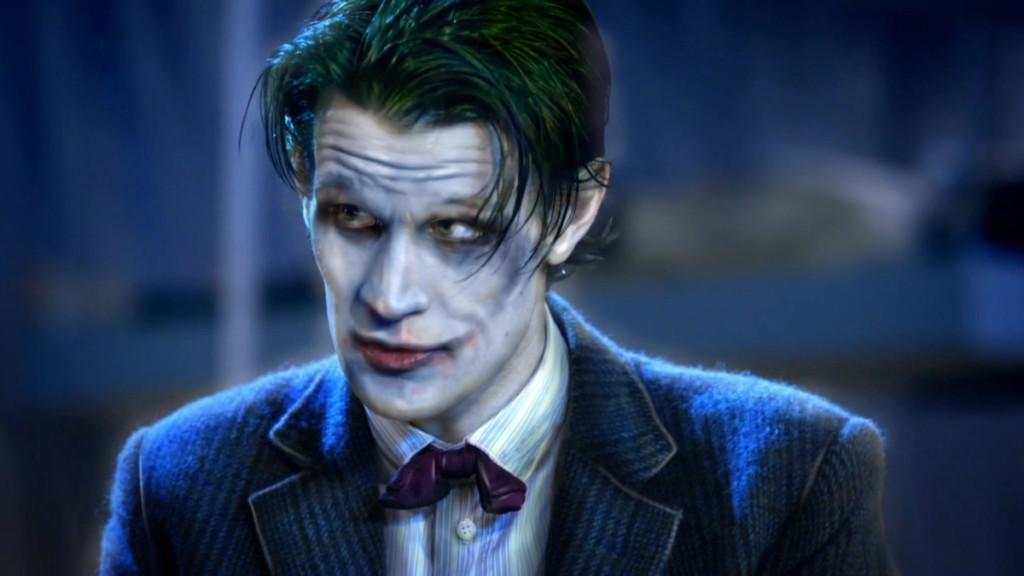 Matt Smith as The Joker - fan art