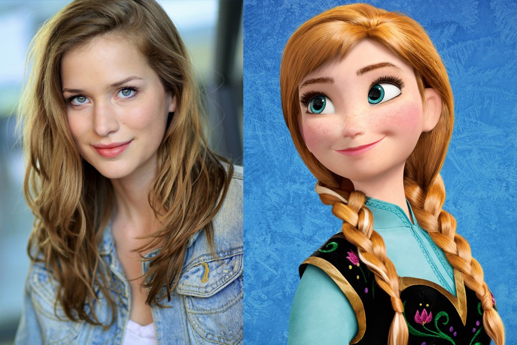 Once Upon a Time - Elizabeth Lail cast as Anna