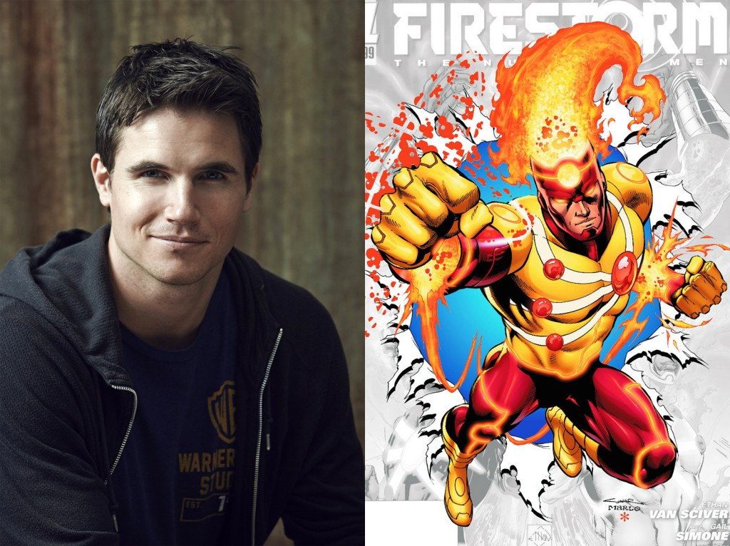 The Flash - Robbie Amell cast as Ronnie Raymond - Firestorm