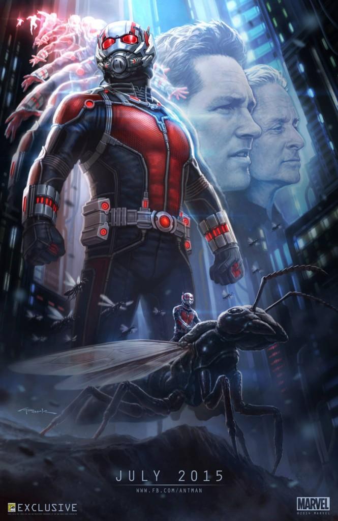 Ant-Man - concept art poster