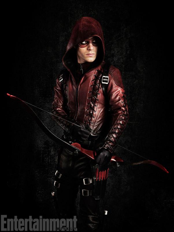 Arrow - Colton Haynes as Arsenal