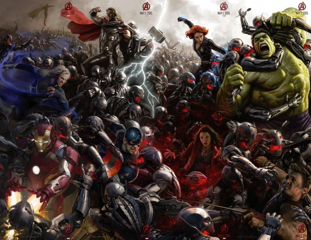 Avengers Age of Ultron - full poster