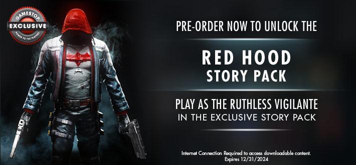 Batman Arkham Knight - Red Hood DLC exclusive