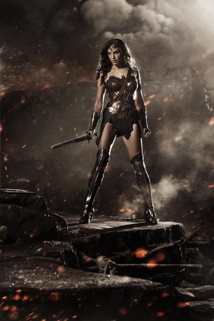 Batman v Superman - Gal Gadot as Wonder Woman
