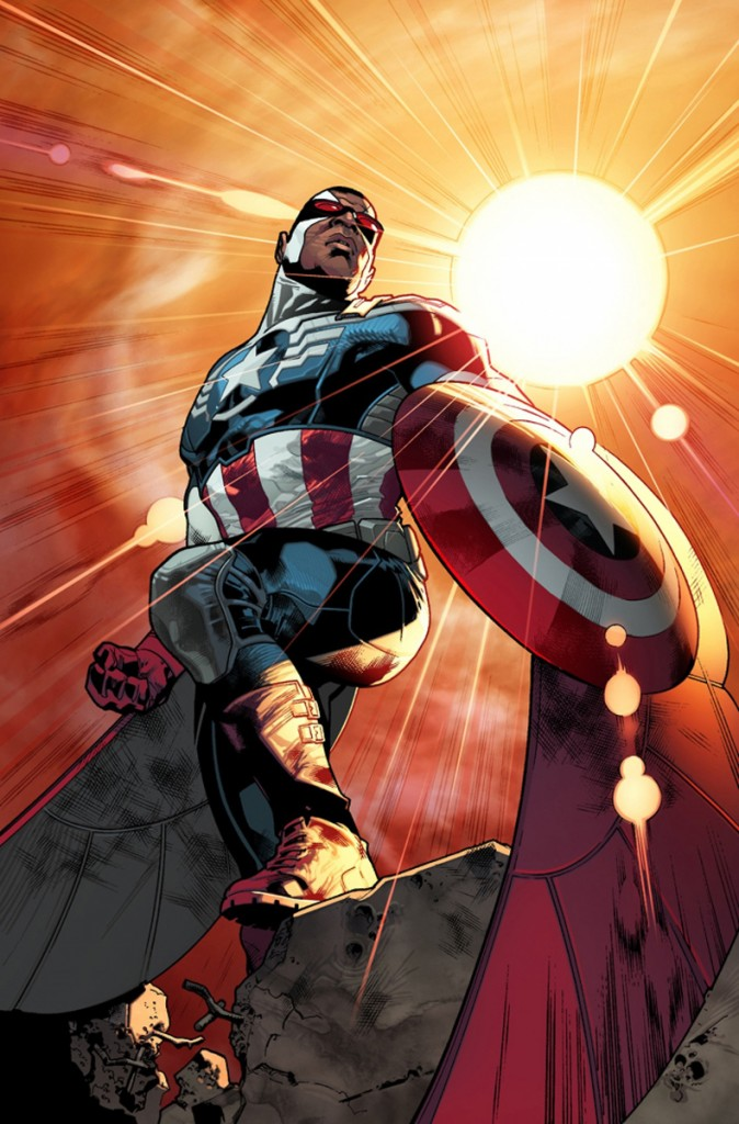 Falcon to become the new Captain America