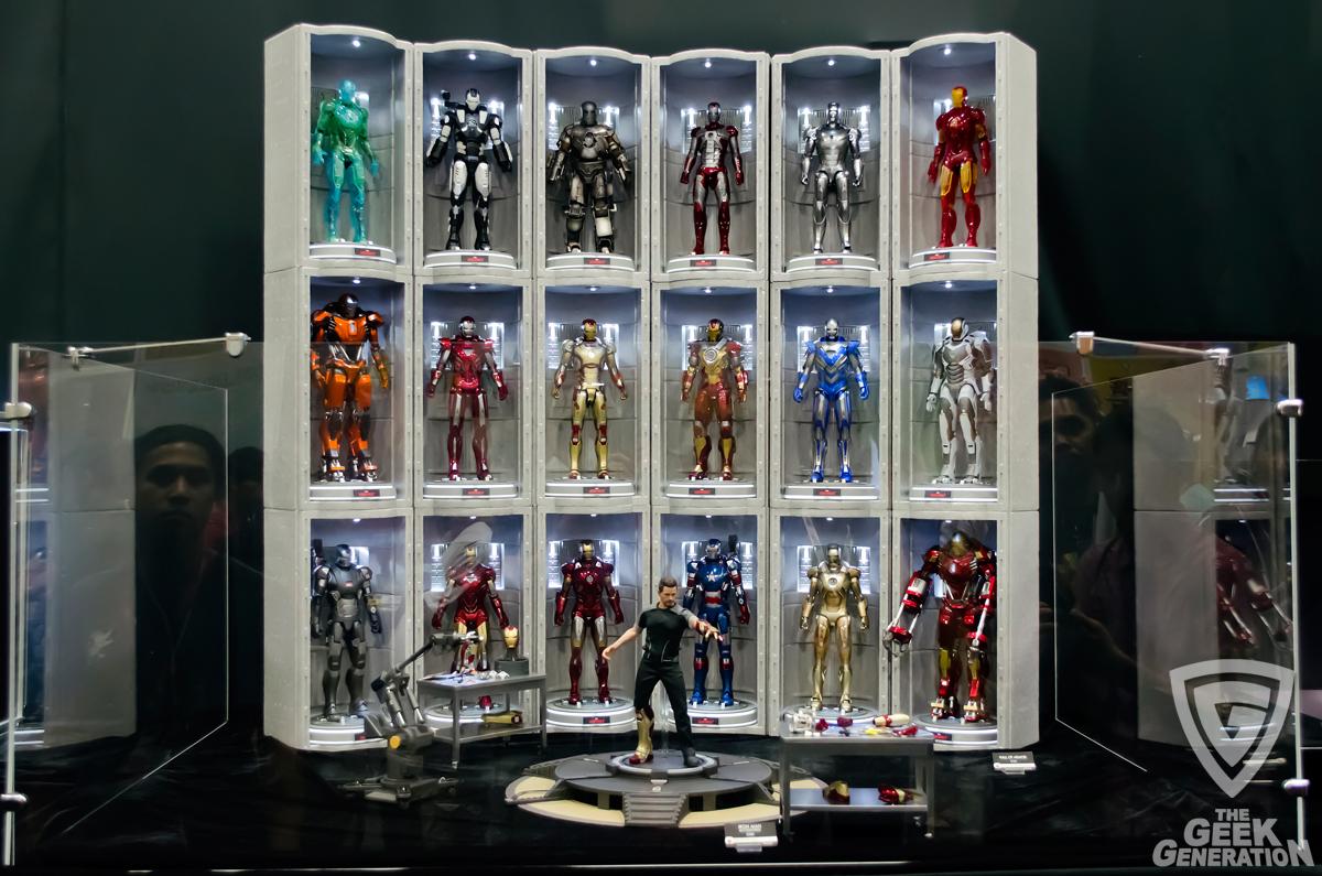 Iron Man Hall Of Armor 64