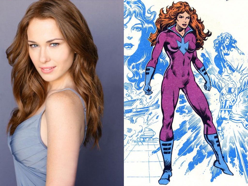 The Flash - Kelly Frye cast as Plastique
