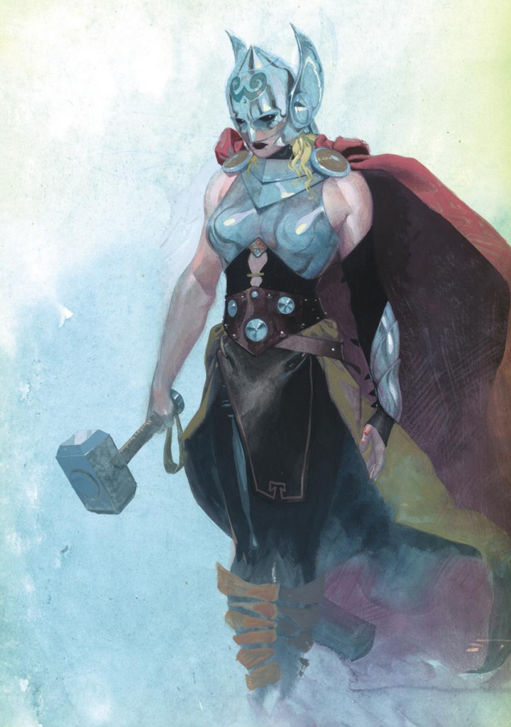 Thor - mystery woman