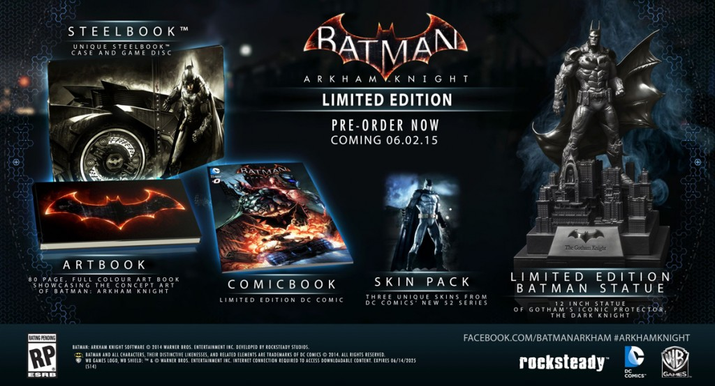 Batman Arkham Knight - Limited Edition
