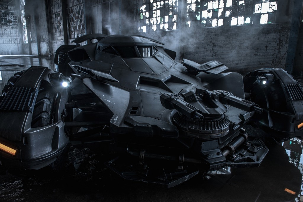 Batman v Superman - Batmobile official look