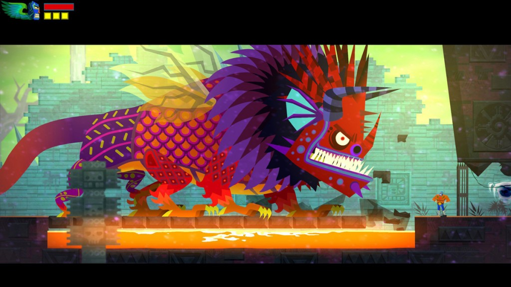 Guacamelee - screenshot