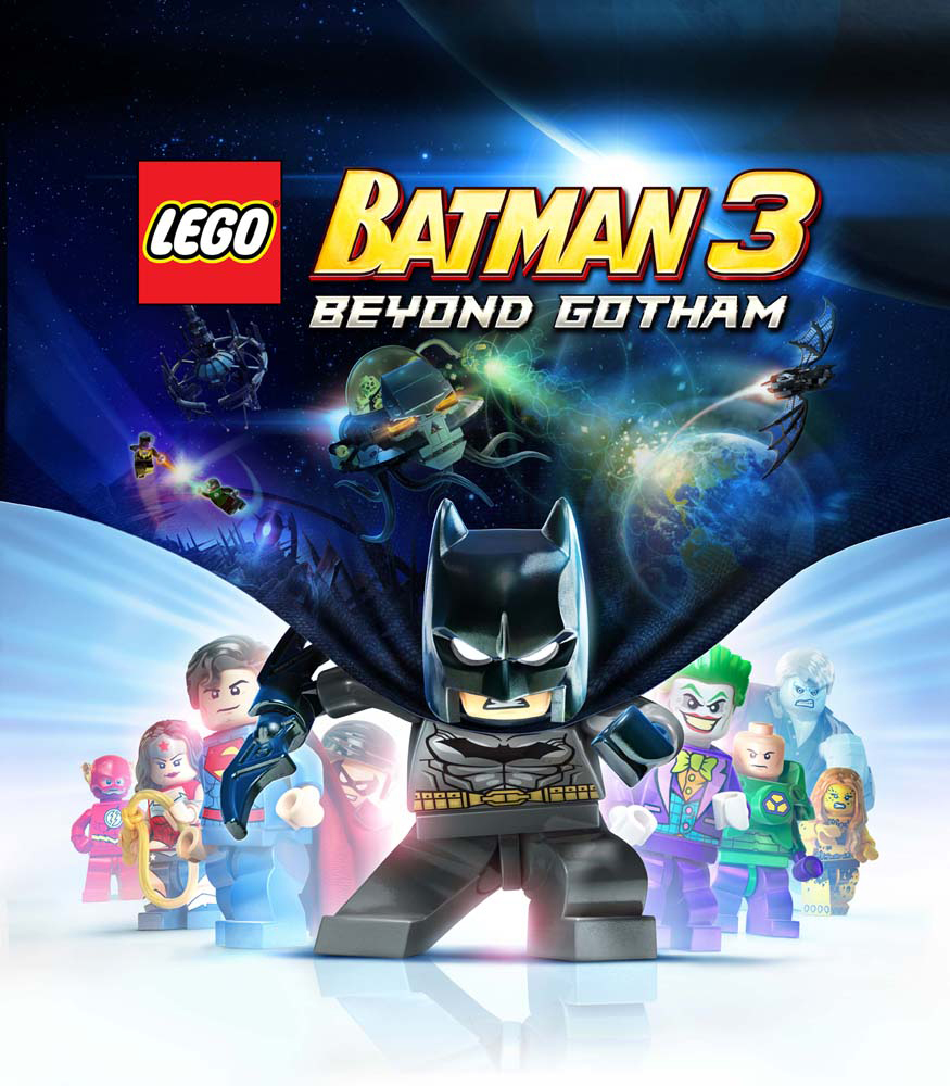 LEGO Batman 3 Beyond Gotham - key art
