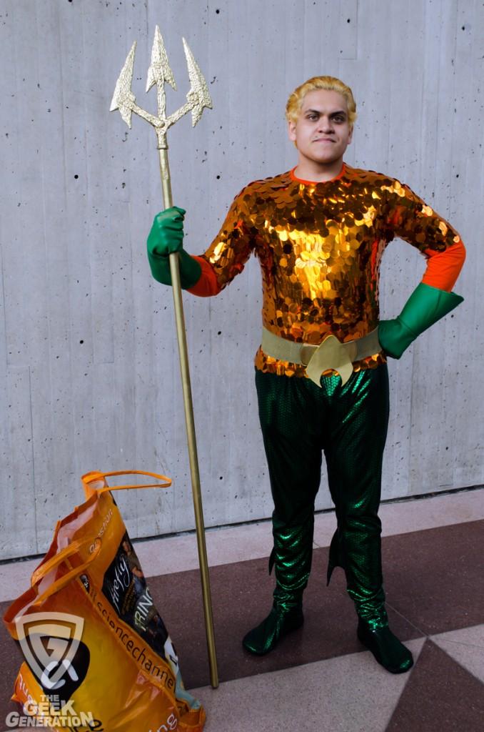 NYCC 2013 - Aquaman