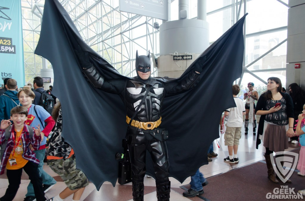 NYCC 2013 - Batman cape