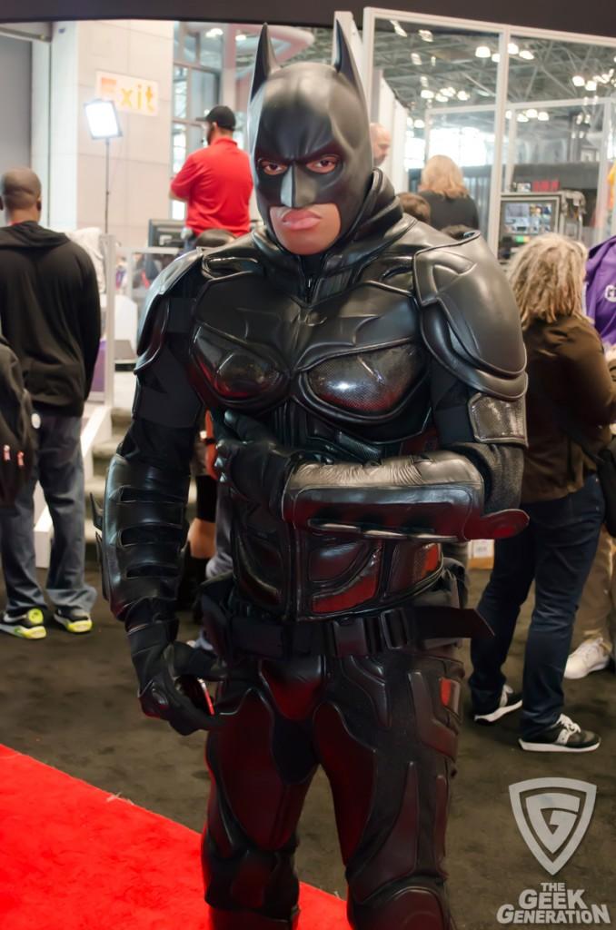 NYCC 2013 - Batman capeless