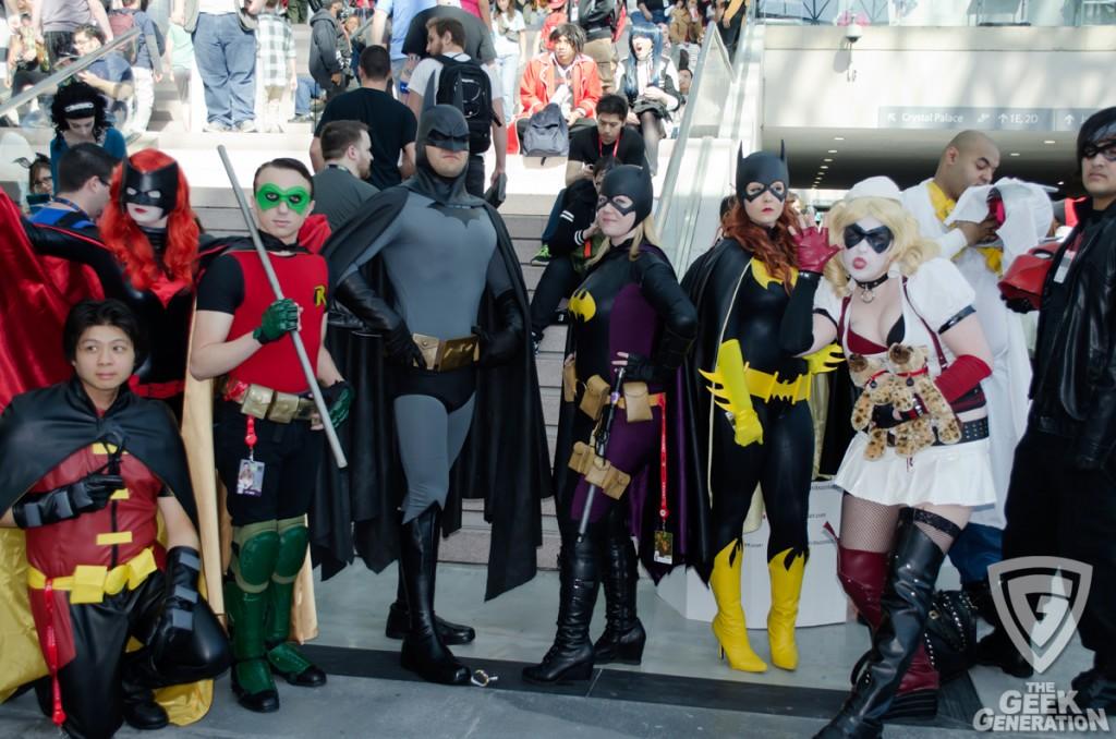 NYCC 2013 - Batman family