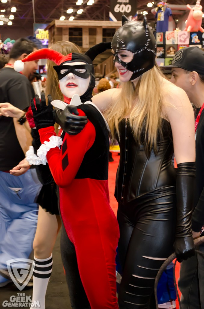 NYCC 2013 - Catwoman and Harley Quinn