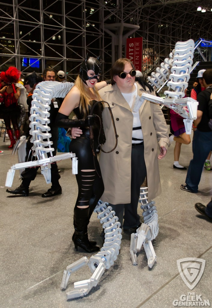 NYCC 2013 - Doc Ock and Catwoman