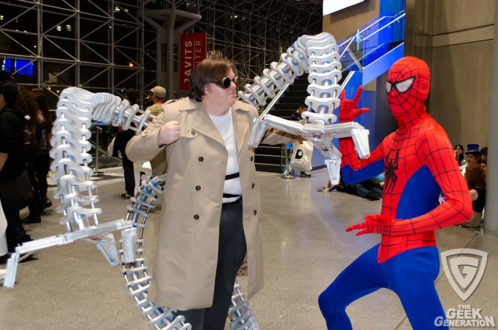 NYCC 2013 - Doc Ock vs Spider-Man