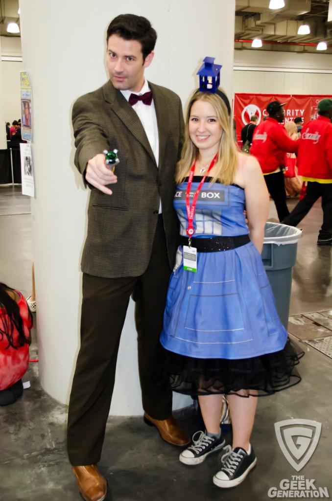 NYCC 2013 - Doctor Who and TARDIS