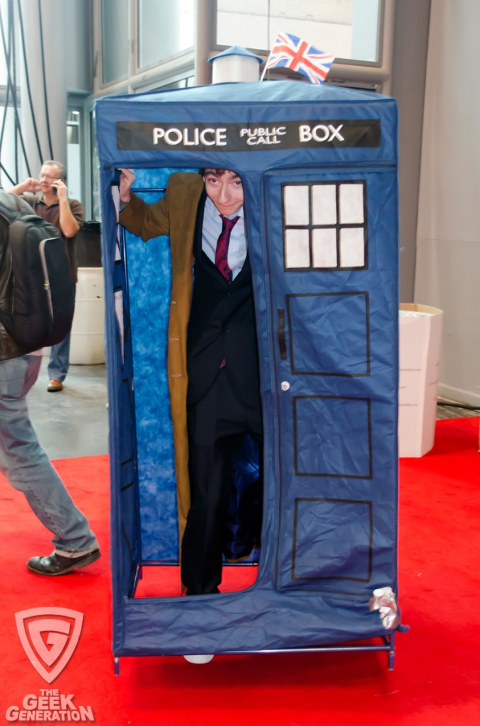 NYCC 2013 - Doctor Who in TARDIS