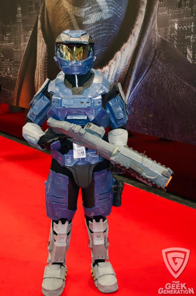 NYCC 2013 - Halo spartan