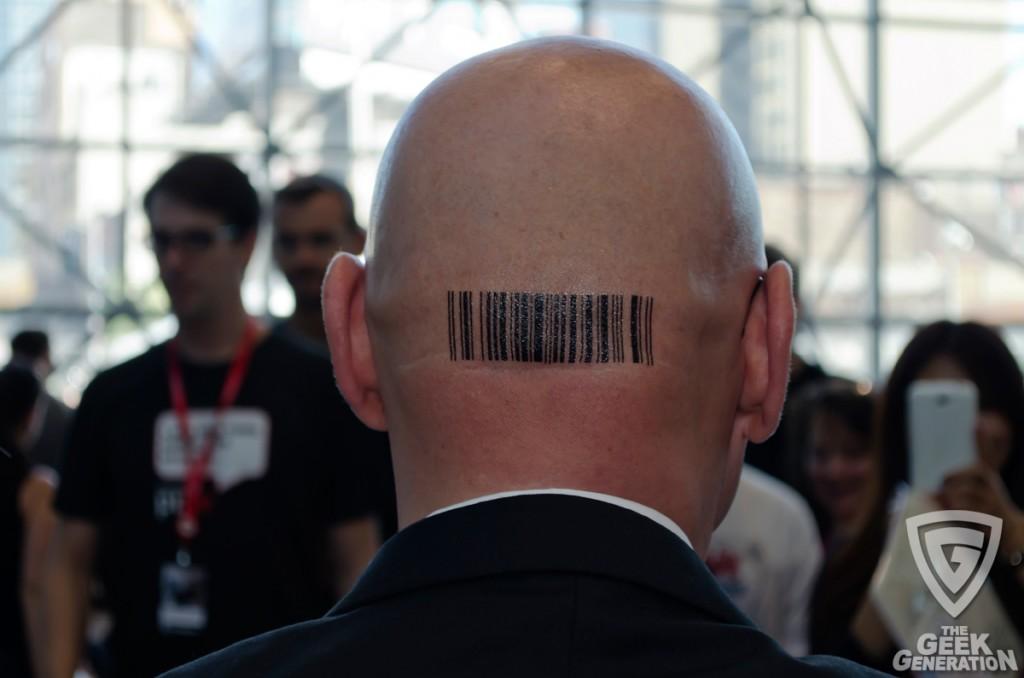 NYCC 2013 - Hitman barcode