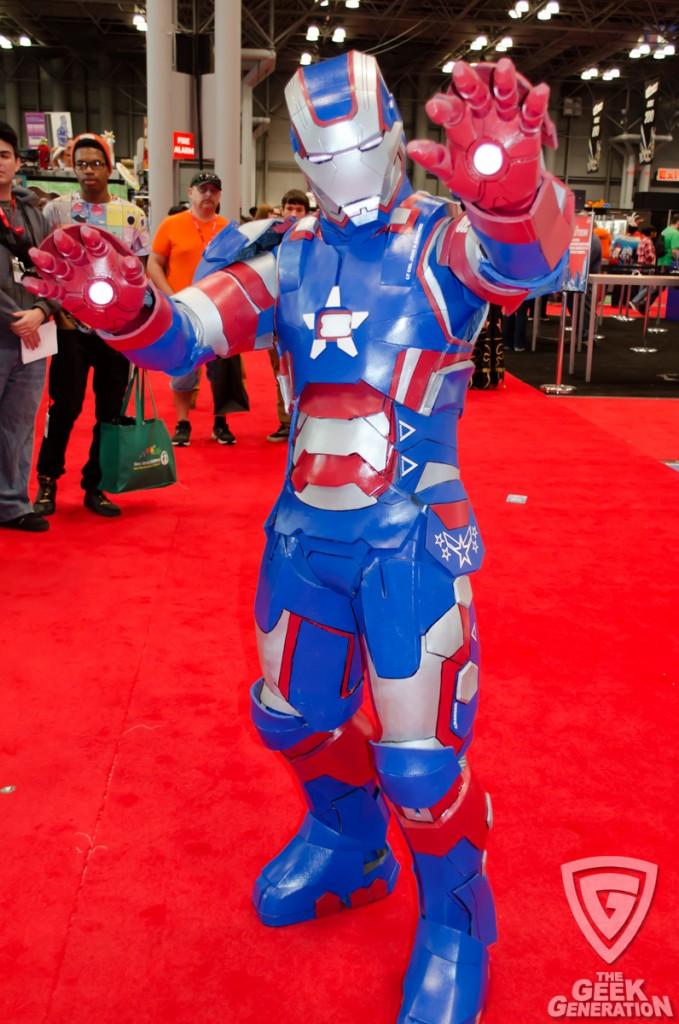 NYCC 2013 - Iron Patriot