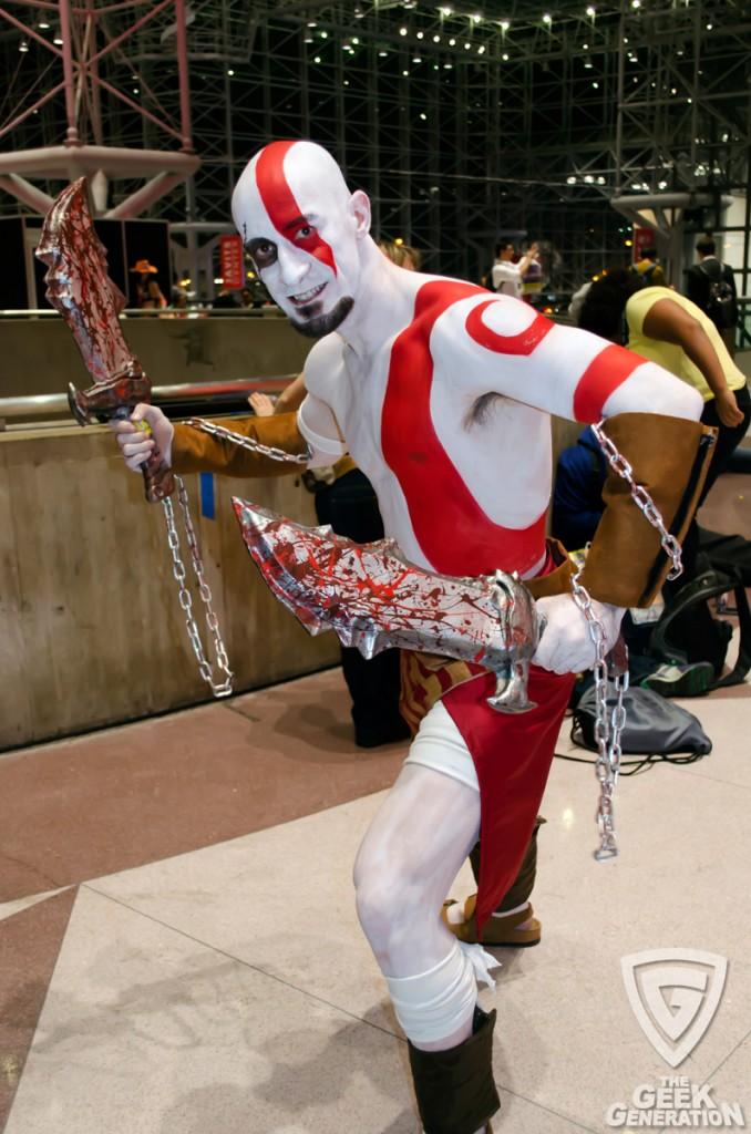 NYCC 2013 - Kratos