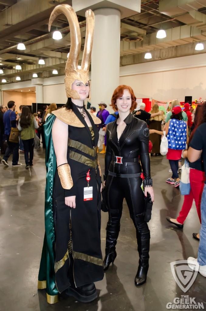 NYCC 2013 - Loki and Black Widow