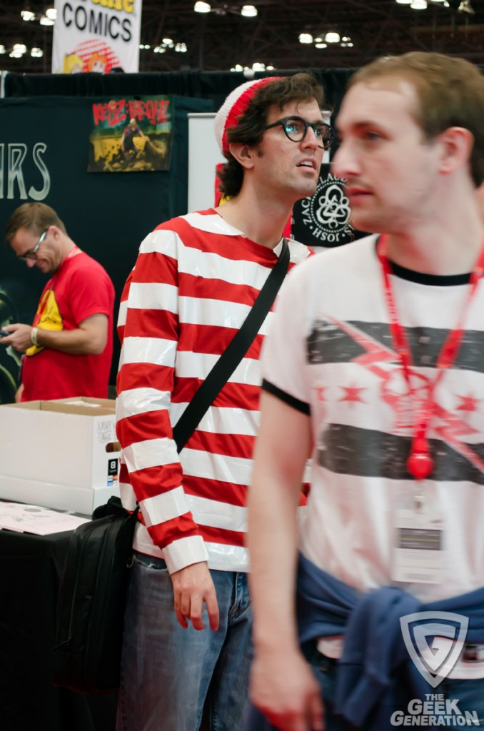 NYCC 2013 - Wheres Waldo