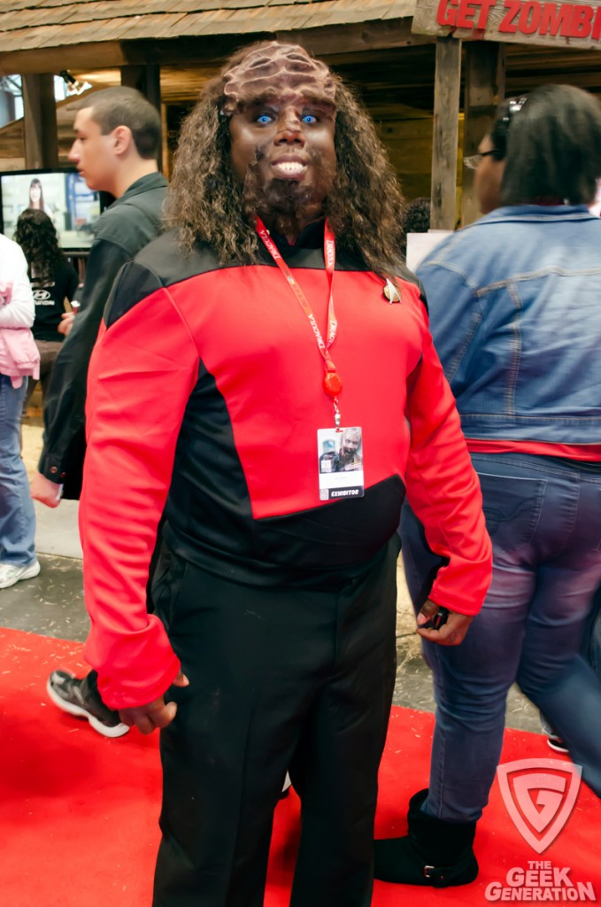 NYCC 2013 - Worf