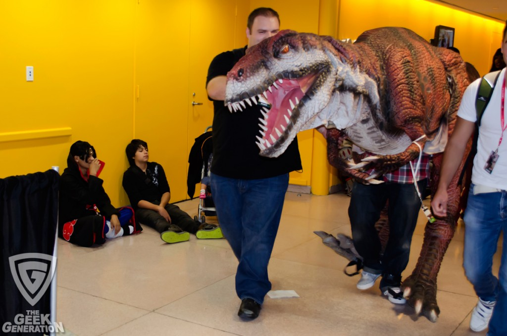 NYCC 2013 - dinosaur