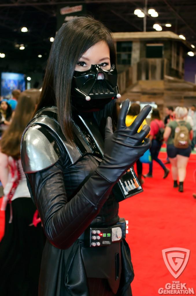 NYCC 2013 - female Darth Vader