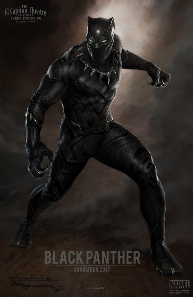 Black Panther - concept art