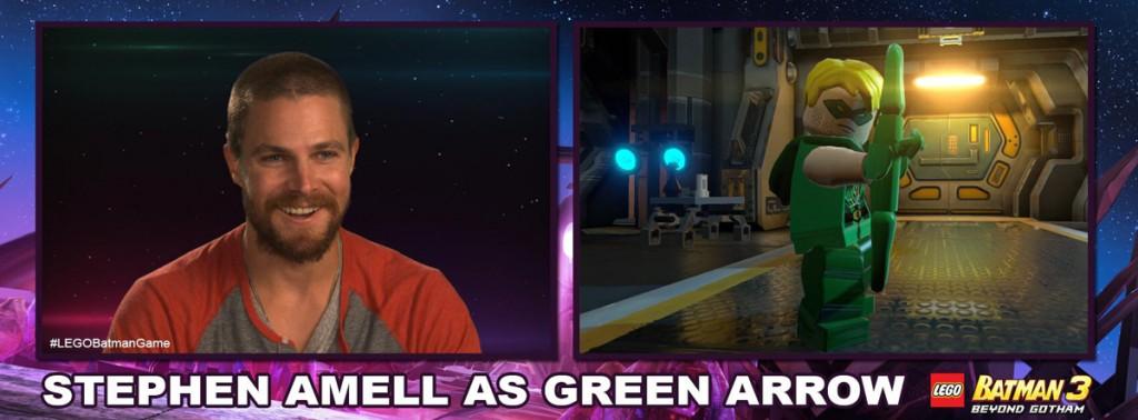LEGO Batman 3 - Stephen Amell as Green Arrow