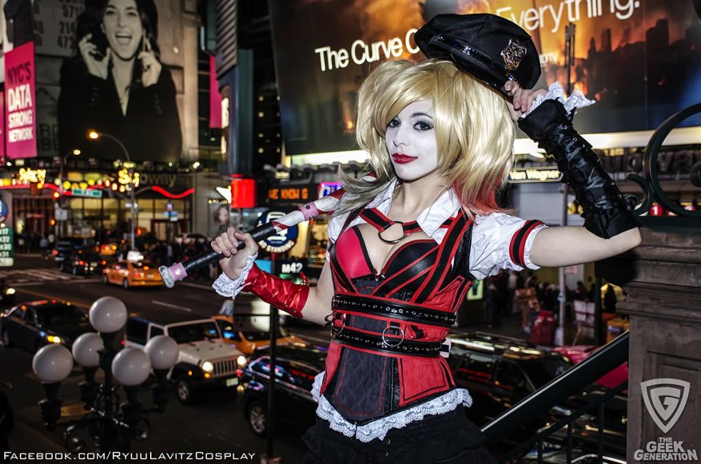 Ryuu Lavitz - Harley Quinn - Times Square - hat