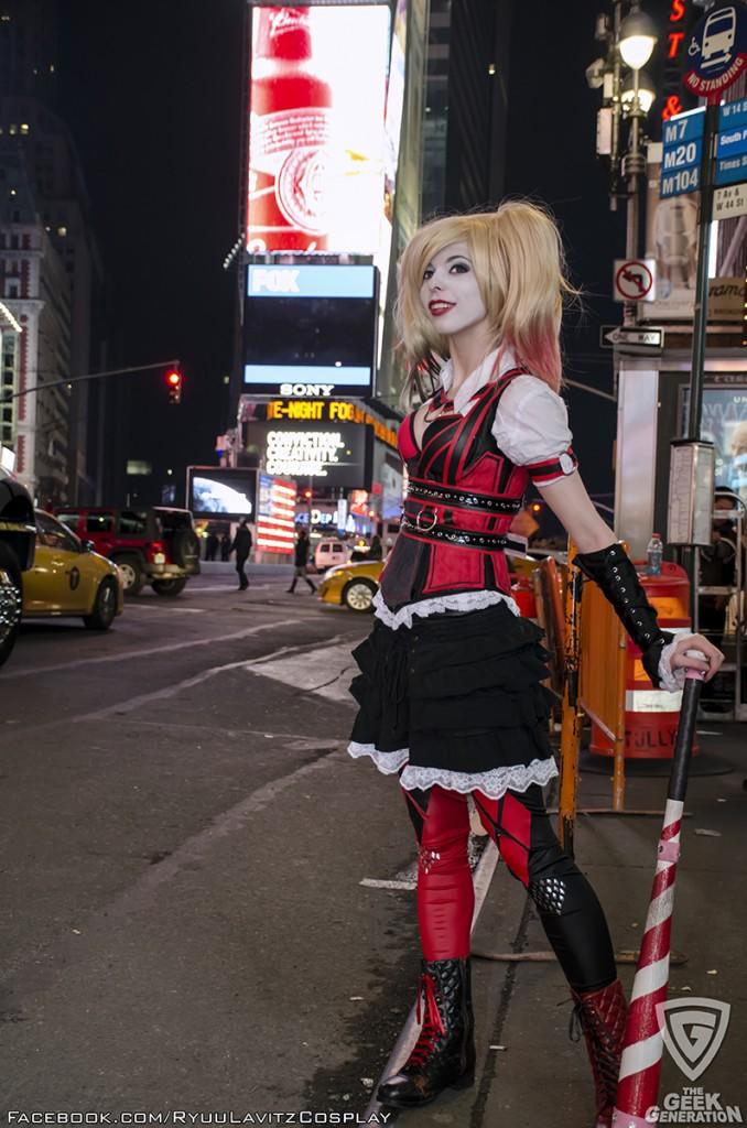 Ryuu Lavitz - Harley Quinn - Times Square - look