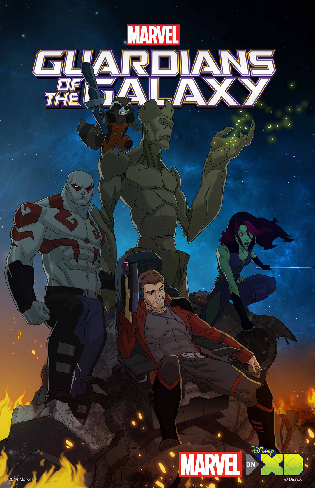 Guardians of the Galaxy animated series promo
