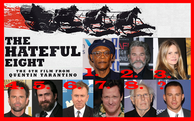The Hateful Eight cast
