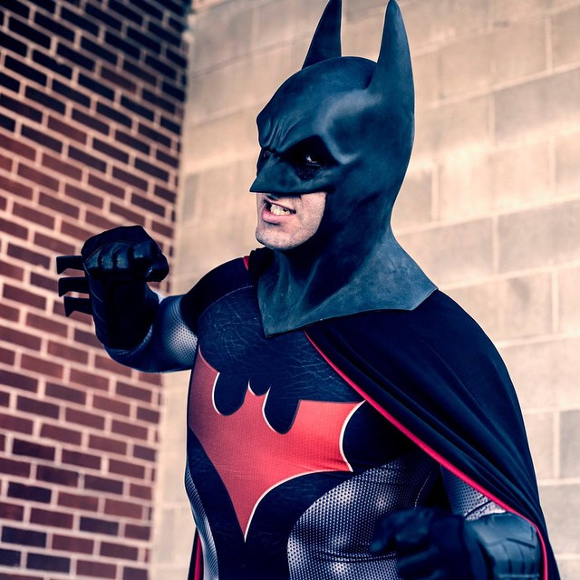 New shot of my hybrid Batman by Pattianne Stone Photography. #Batman #BatmanBeyond #cosplay