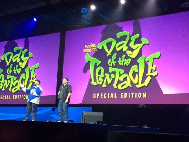 Day of the Tentacle Special Edition - announcement