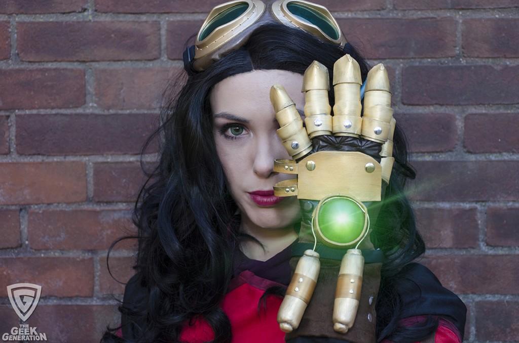 Kyla Cosplay - Asami - Equalist glove