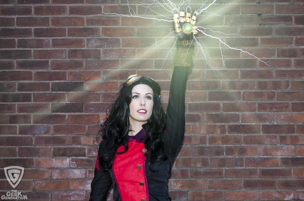 Kyla Cosplay - Asami - Equalist glove glow
